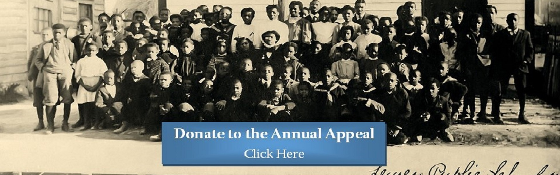 Please Make a Donation to Our Annual Appeal