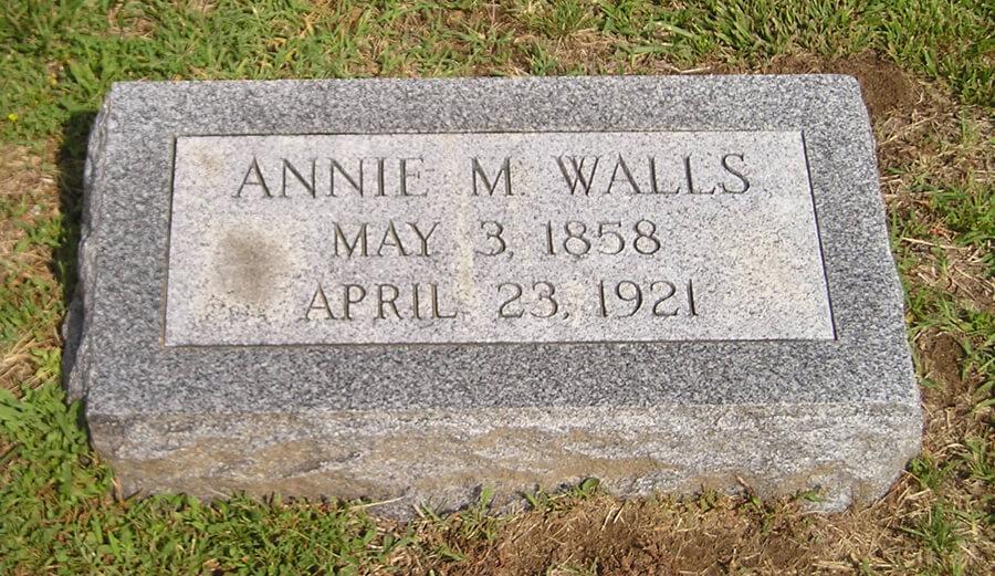 Annie M. Walls