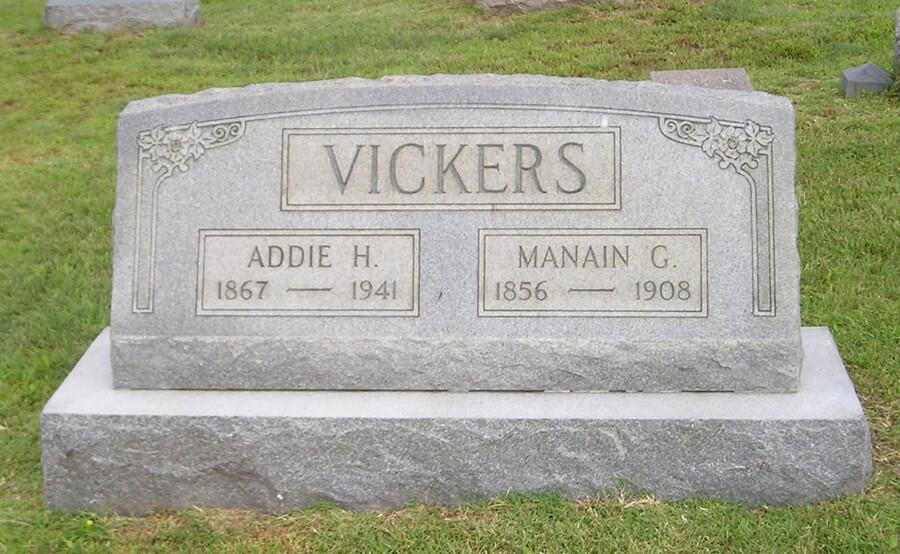 Addie H. Vickers
