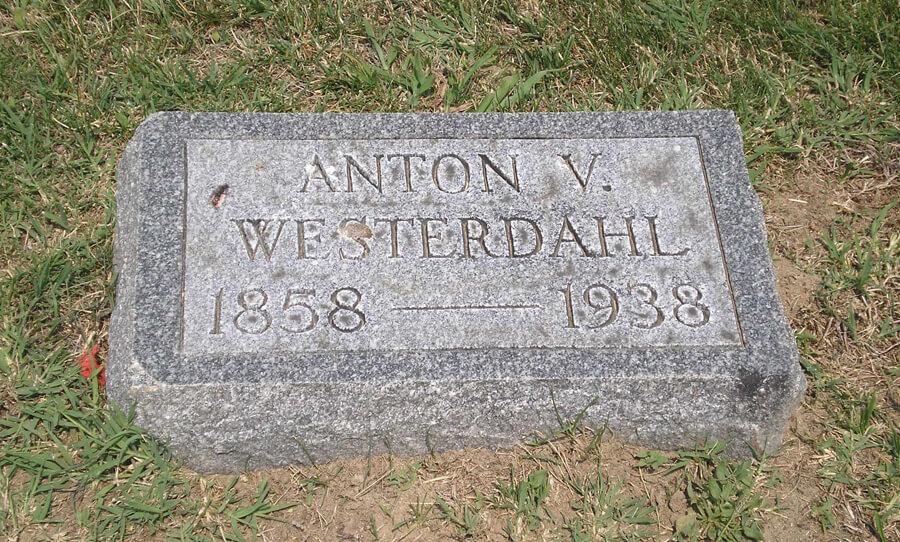 Anton V. Westerdahl