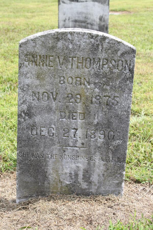 Annie V. Thompson