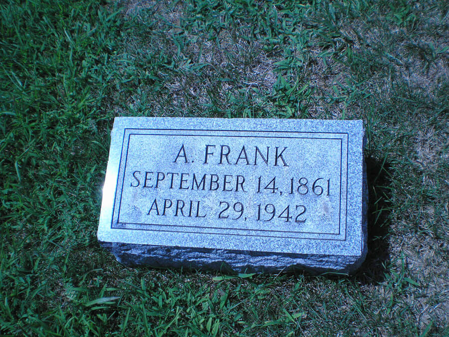 A. Frank Joseph