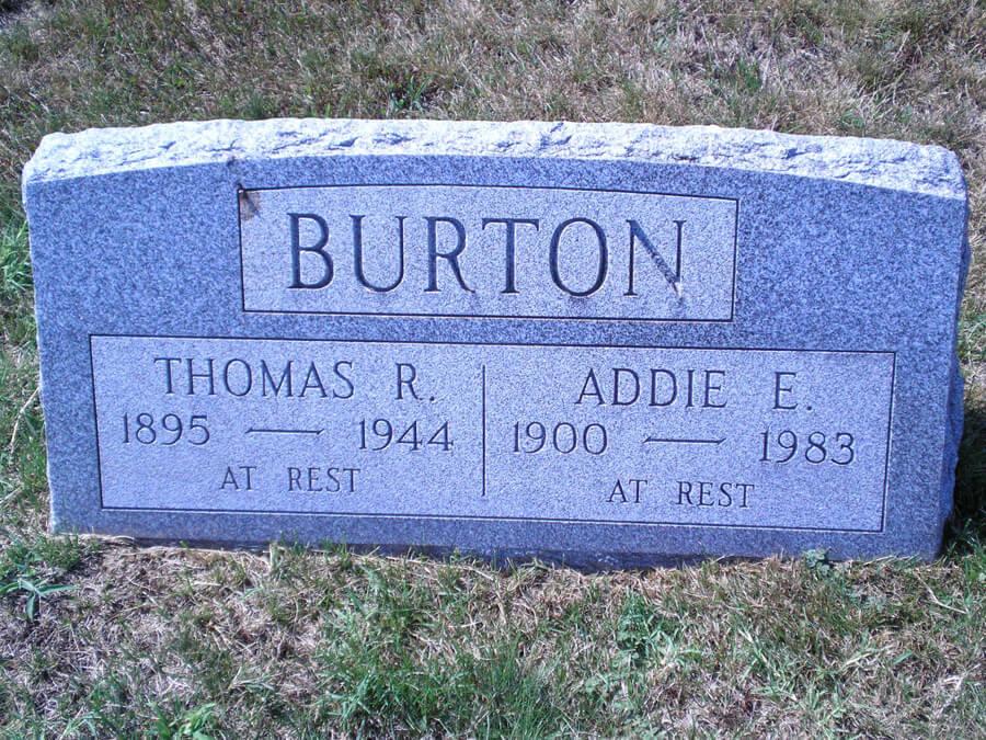 Addie E. Burton