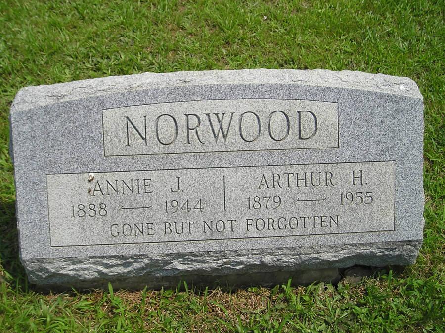 Arthur H Norwood