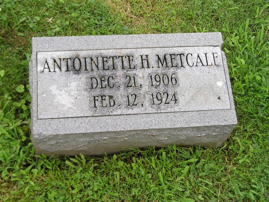 Antoinette H. Metcalf