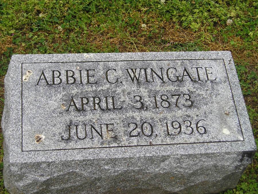 Abbie C. Wingate
